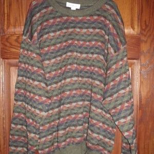 L.L.Bean Worsted Wool Sweater Ireland Sz. Large